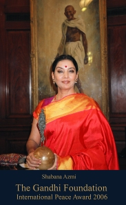 2006 Gandhi International Peace Award