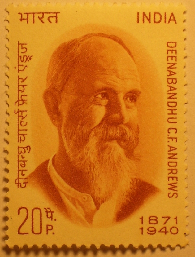 commemorative stamp of Charles Andrews