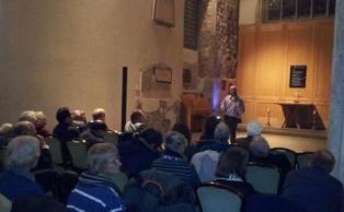 Mark Hoda addressing The Gandhi Foundation Multifaith Celebration 2012