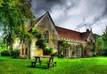 The Abbey at Sutton Courtenay