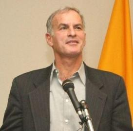 Norman Finkelstein at Suffolk University in Massachusetts 2005 by Miguel de Icaza