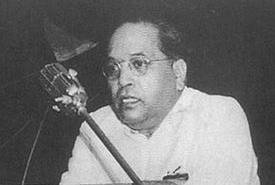 Dr Ambedkar in 1951