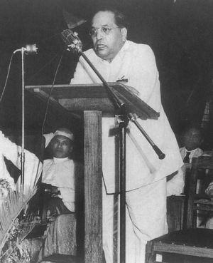 Dr B R Ambedkar in 1951