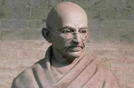 Gandhi Statue sculpture by Philip Jackson